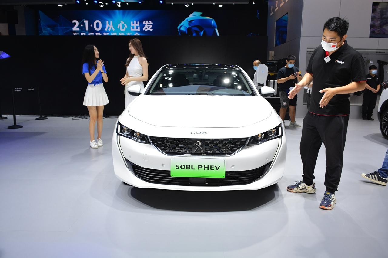 2020广州车展实拍:标致508混动