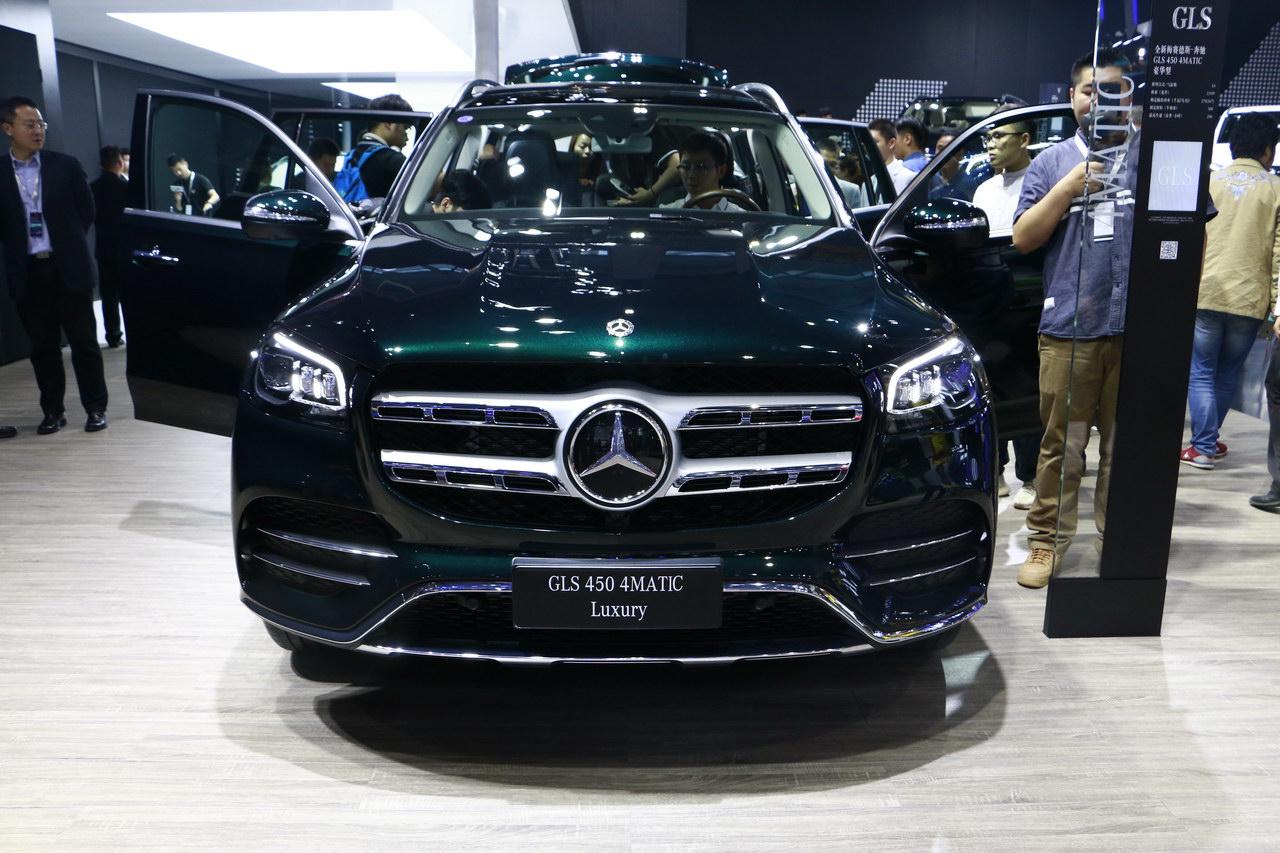 2019广州车展实拍:奔驰GLS级