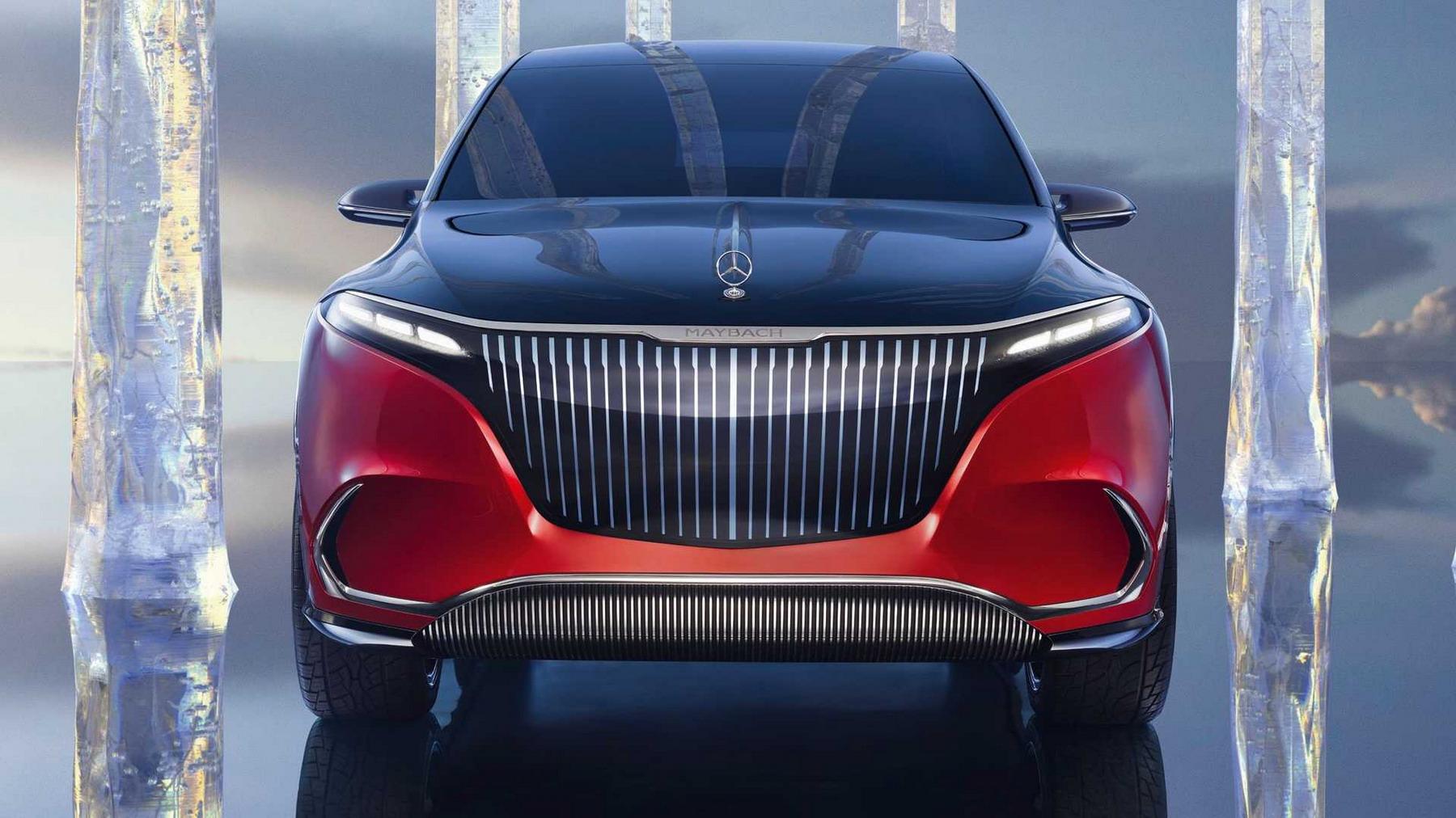 2021款迈巴赫EQS SUV概念车