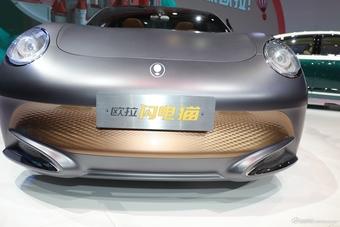 2021上海车展实拍:欧拉闪电猫