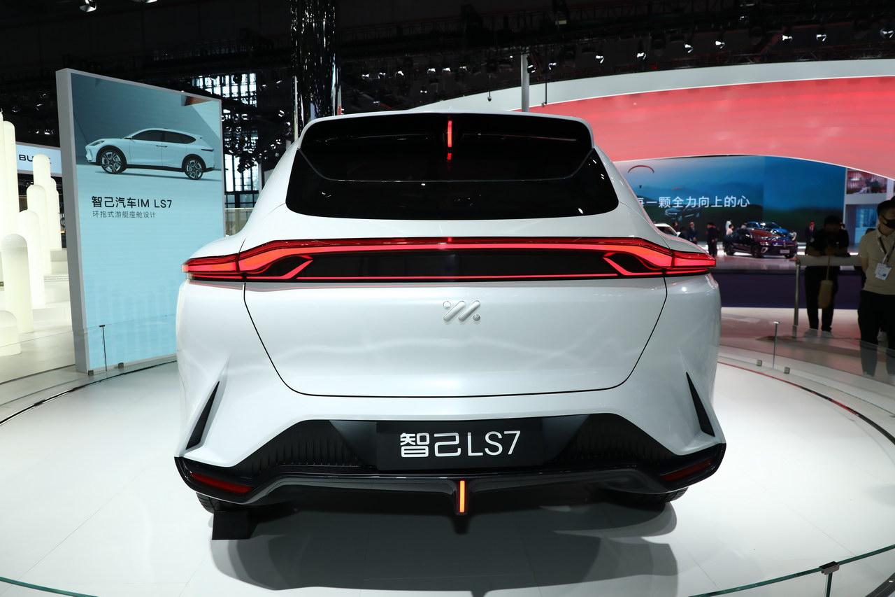 2021上海车展实拍:智己LS7
