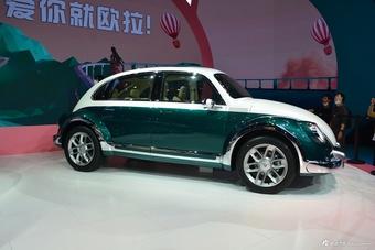 2021上海车展实拍:欧拉朋克猫