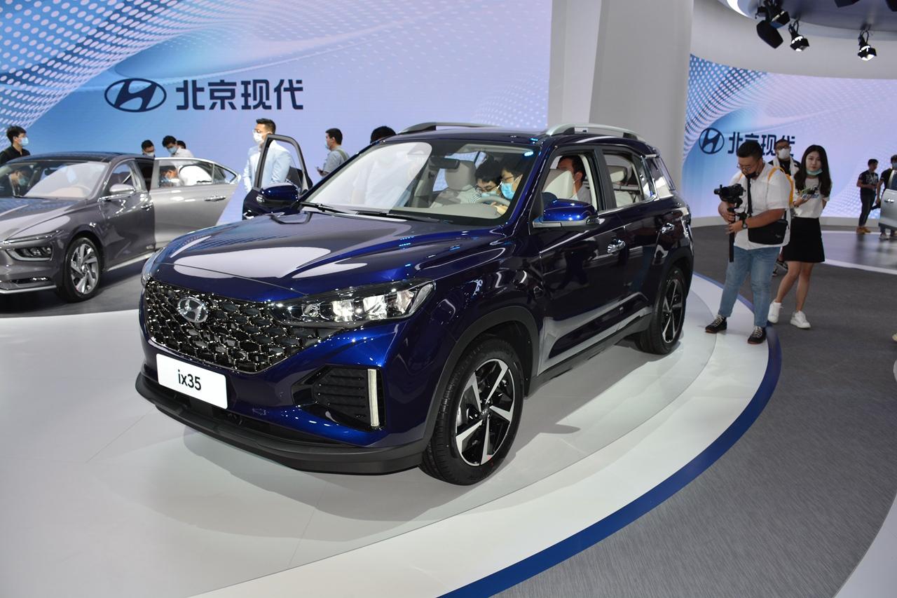 2020广州车展实拍:现代ix35