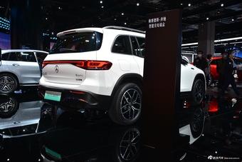 2021上海车展实拍:奔驰EQB