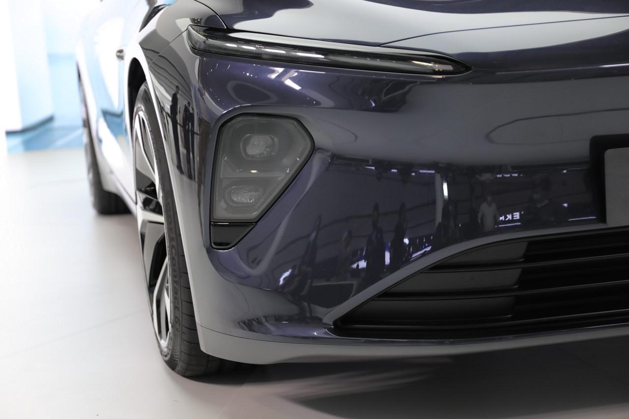 2021上海车展实拍:蔚来ET7